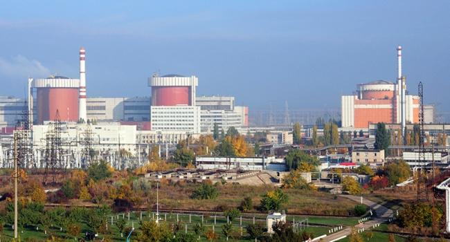 НаЮжно-Украинской АЭС отключили один энергоблок
