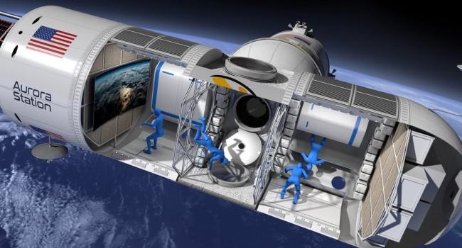 Американцы запустят на орбиту космический отель
