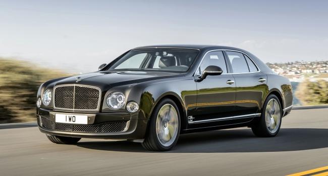 Украинцы пересаживаются на Bentley и Maserati