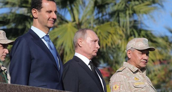 Президент Сирии прибыл всвою резиденцию вДамаске после обстрела