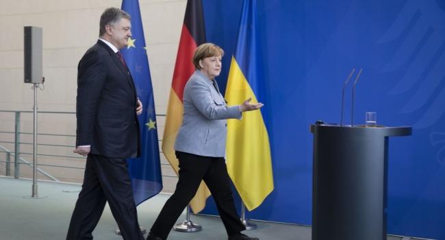 Блогер вчерашнее заявление Меркель – это стопроцентная победа как Коболева-Витренко так и Порошенко лично