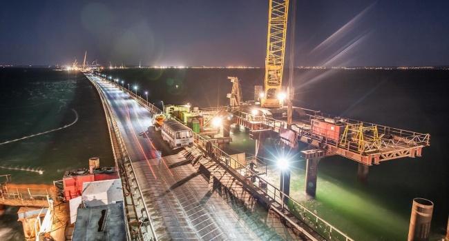 Крымский мост появился наинтернет-картах