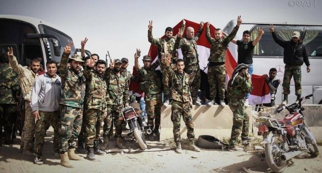 Сирия несмогла сбить ниодну ракету— Пентагон
