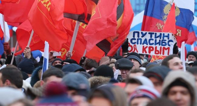 Россияне начали осознавать, что «на Украине обломались», а Путин оказался «тряпкой»