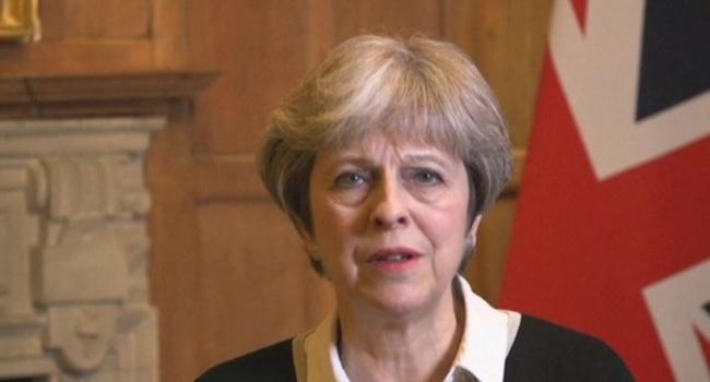 Тереза Мэй раскрыла причину удара Великобритании по Сирии
