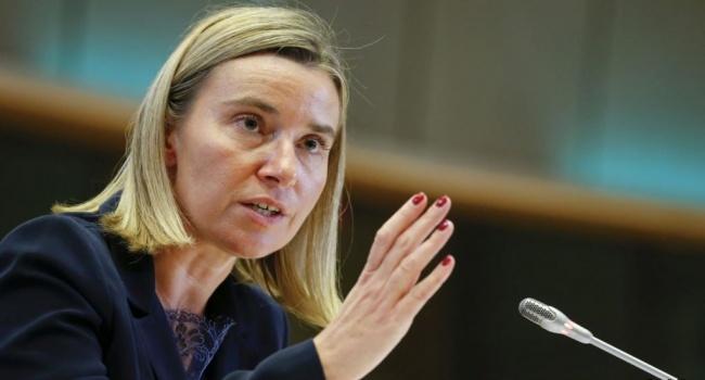 Россия вызывающее ведет себя в Украине – Могерини