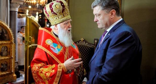 «УПЦМП назвала политической манипуляцией попытку Порошенко сделать независимую» церковь