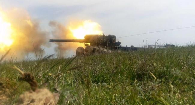 Украинские ВМС провели учения около Крыма