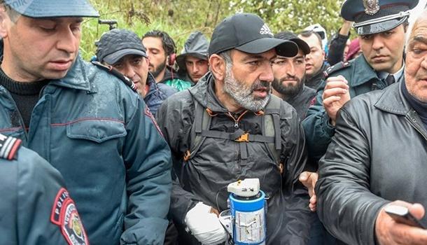 ВАрмении схвачен лидер протестного движения, начался разгон митингующих