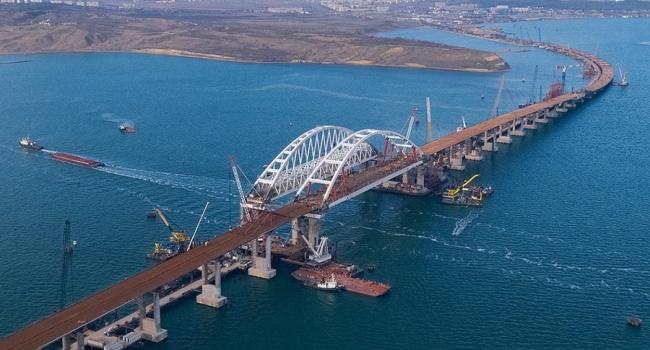 Построив Керченский мост, РФ ощутимо ударит по«братскому» Донбассу