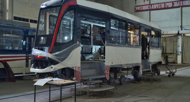 Украина поставит Египту 15 высокопольных трамваев