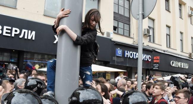 Нусс: арест несовершеннолетних детей, которых вывел на улицы Навальный, – не более, чем технология запугивания российского населения