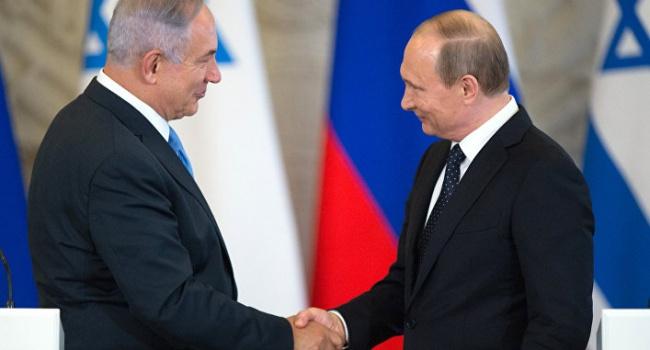 Нетаньяху приедет 9 Мая в Москву, чтобы на публике создать видимость дружбы с Путиным, – эксперт
