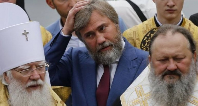 Новинского в Варшаве постигла та же участь, что и участников «пресс-тура» против отделения УПЦ от МП