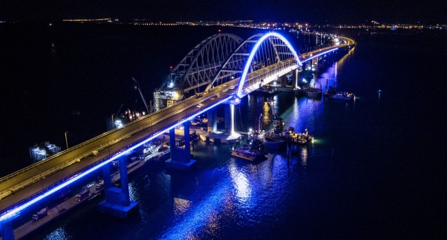 Крымского моста не будет: российский оппозиционер дал жесткий прогноз