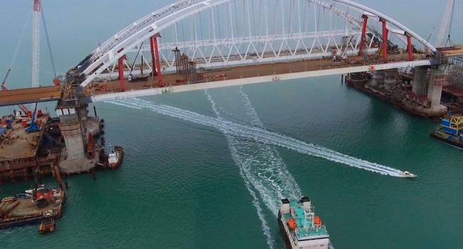 В МИД Украины сделали неутешительный прогноз для моста через Керченский пролив
