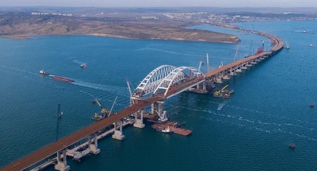 Журналист: «Запуск Крымского моста разделим на две части»