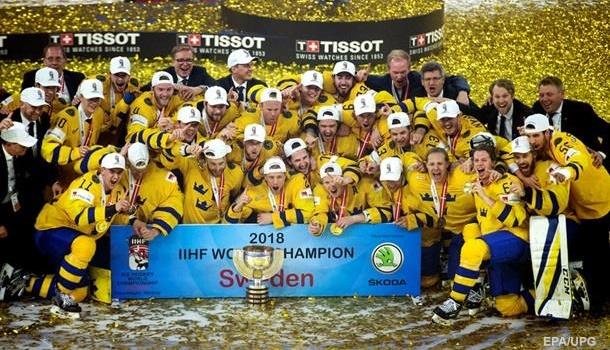 Швеция – чемпион, Канада – на вылет: результаты финала ЧМ по хоккею