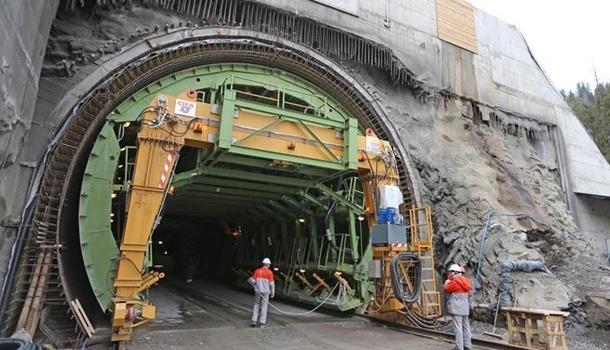Сегодня вУкраинском государстве откроют Бескидский тоннель