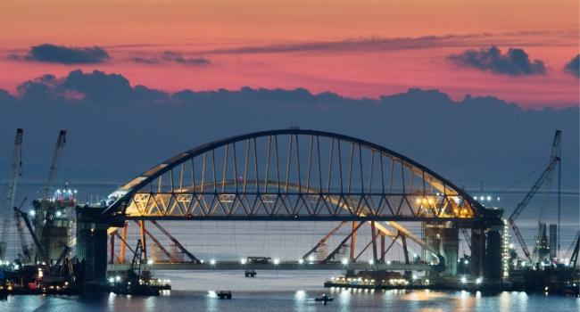 В Раде заявили, что Украина имеет полное право уничтожить мост через Керченский пролив