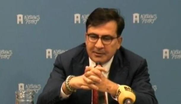 Саакашвили призвал Европу ввести санкции против властей государства Украины