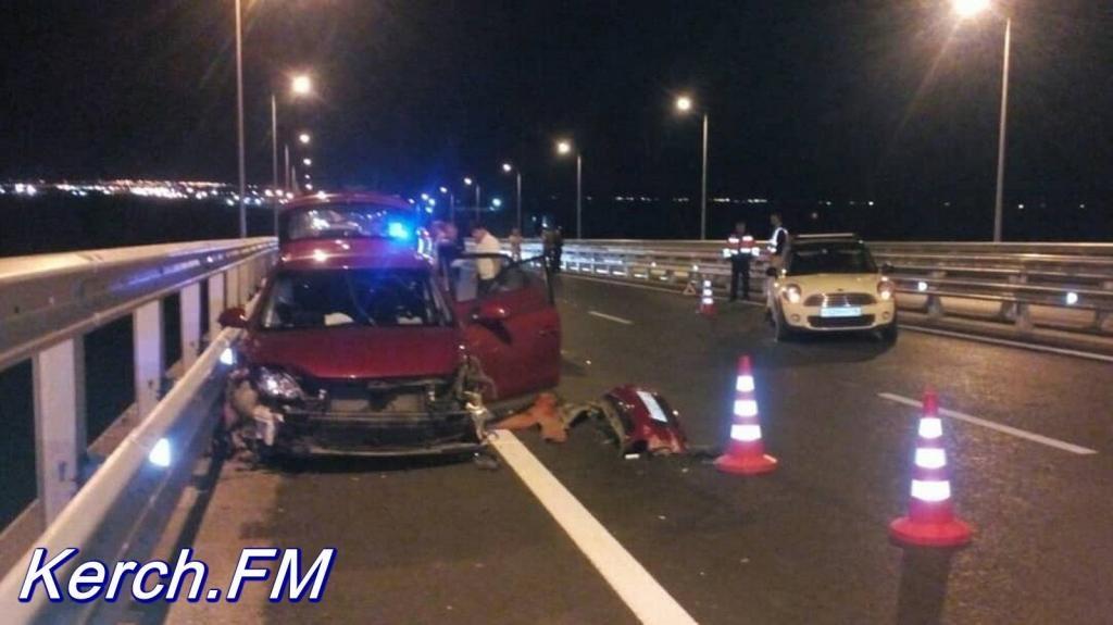СМИ сообщили о первом смертельном ДТП на Крымском мосту