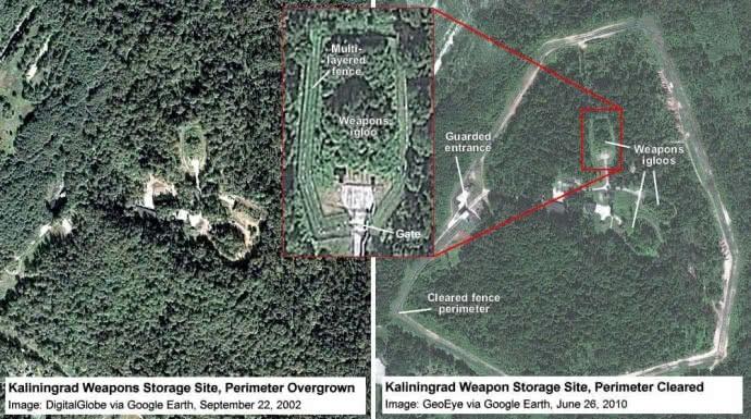 Путин обновляет хранилище ядерного оружия под Калининградом, - ученые США