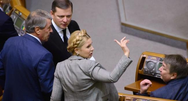 Тимошенко и компания не в восторге от возможного принятия закона про Антикоррупционный суд, – политолог