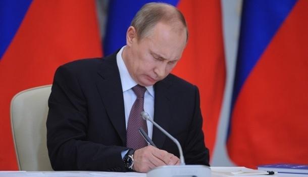 Путин подписал указ о контрсанкциях против США