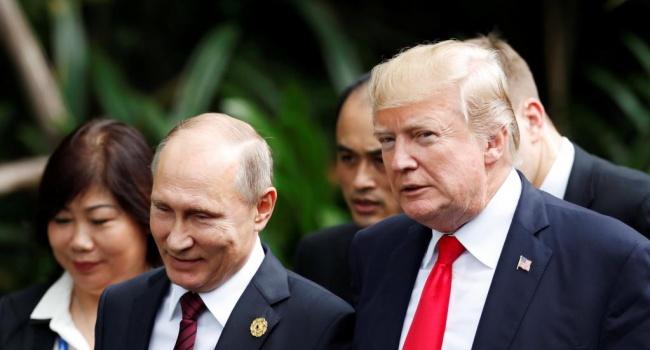 Журналист: «Время от времени Трамп демонстрирует свою верность Путину»
