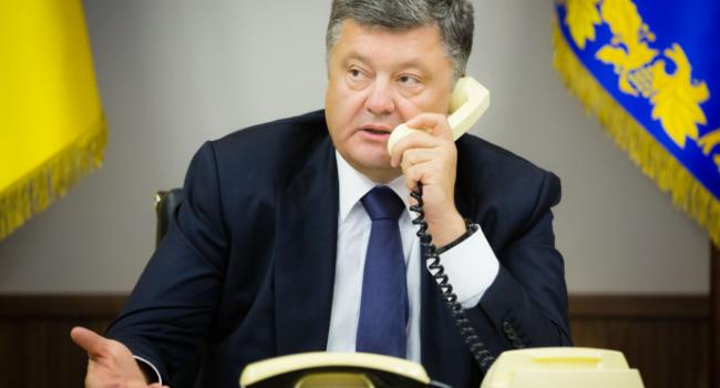 Состоялся телефонный разговор Порошенко с Путиным: стали известны подробности