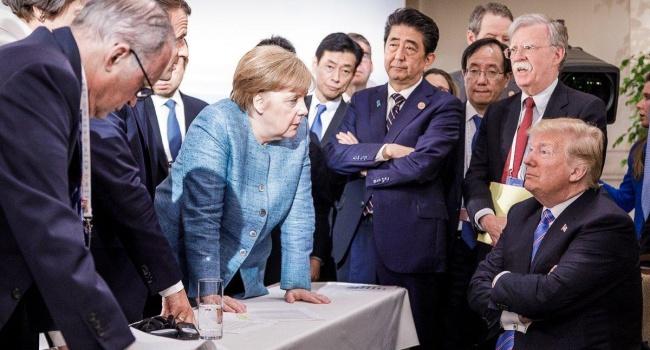 Дипломат: шаржи саммита G7 неуместны, ведь такого моветона в новейшей истории еще себе никто позволял
