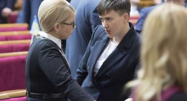 Савченко о Тимошенко: «такого безжалостного, лукавого существа мне еще не приходилось видеть»