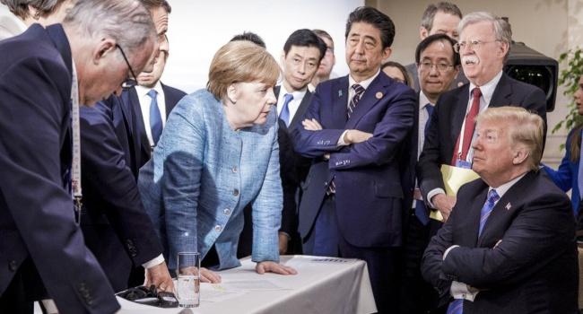 Трамп прокомментировал скандальный снимок с саммита G7