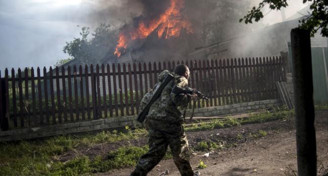 За сутки террористы убили двух украинских военных