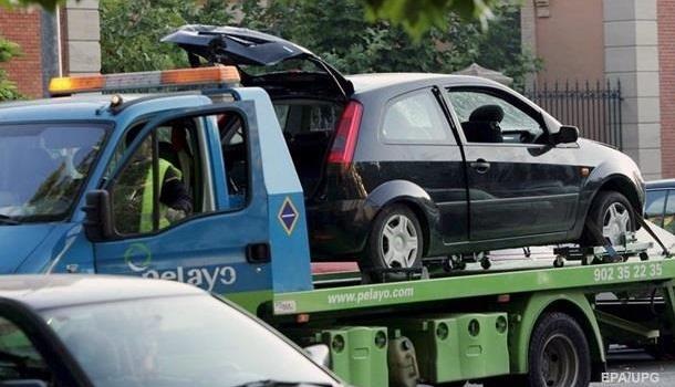 В Киеве будут штрафовать за незаконную парковку автомобилей
