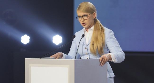 Журналист: Тимошенко сделала фальстарт – за 9 месяцев до выборов «Новый курс» многим просто уже надоест