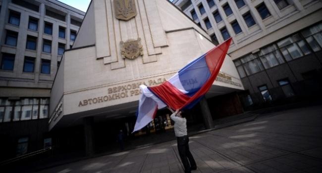 Кравчук объявил, что «вКрыму 78% русских»