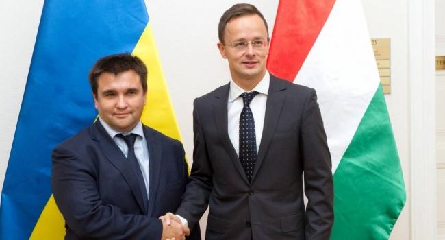 Климкин и Сийярто вручили дипломы выпускникам в Берегово