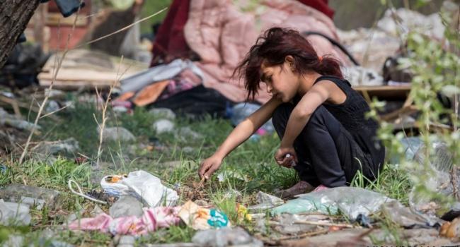 В Киеве с использованием пуль и «коктейлей Молотова» разогнали еще один лагерь ромов