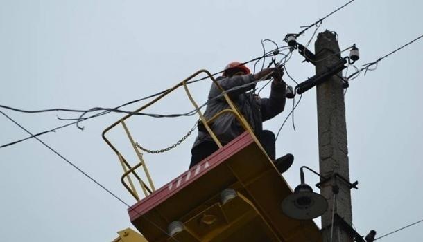 В Мариуполе часть города осталась без электричества
