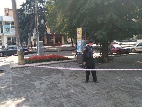 В центре Черкасс взяли заложников: слышны выстрелы