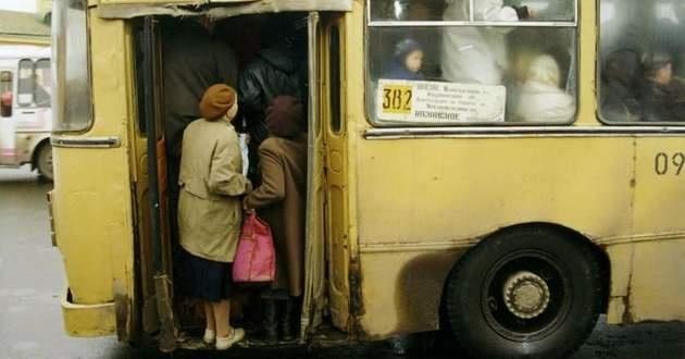 ВУкраинском государстве запретят использовать автобусы, переделанные из грузовиков