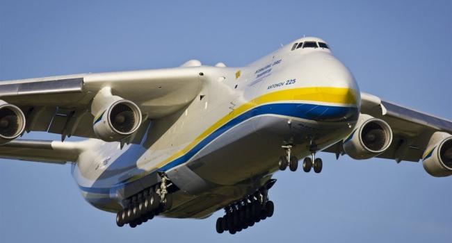 «Бреющий» полет Ан-225 «Мрия» попал навидео
