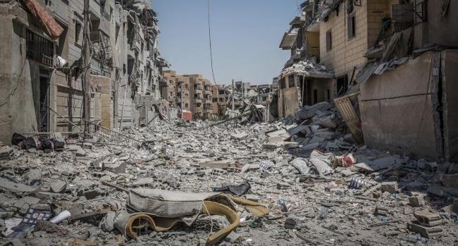 Сирийский генерал поведал отоннах брошенных боевиками боеприпасов