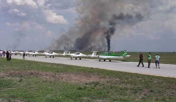 В Румынии произошло крушение военного самолета Миг-21 Lancer