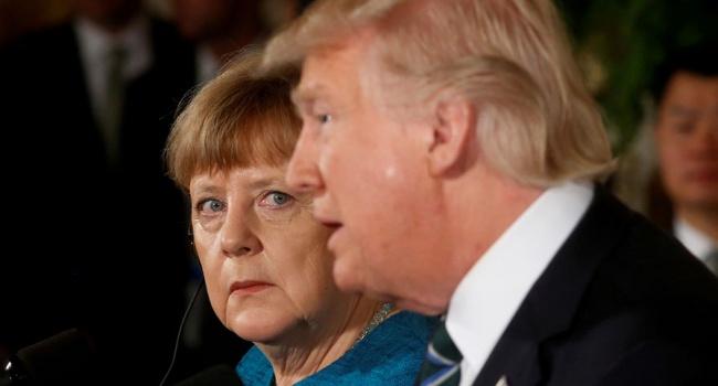 «У США прекрасные отношения с ФРГ», – Трамп