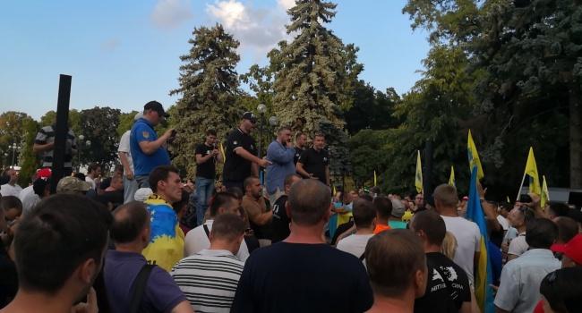 Блогер: вот он патриотизм, главное скоординированный, потому что настоящий, не то, что там на Донбассе