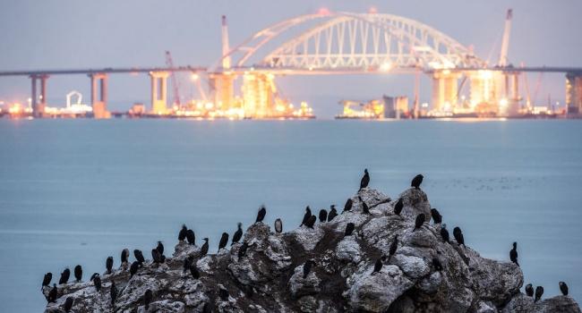 Омелян рассказал о размере убытков из-за Крымского моста