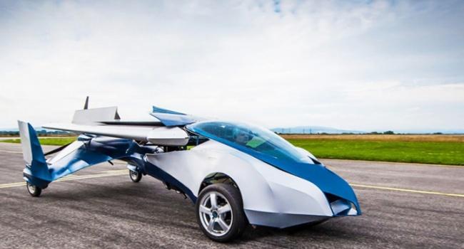 В США представили новый летающий электрокар